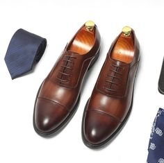 चीन Genuine Leather Lining Formal Business Shoes Comfortable Mens Dress Shoes आपूर्तिकर्ता